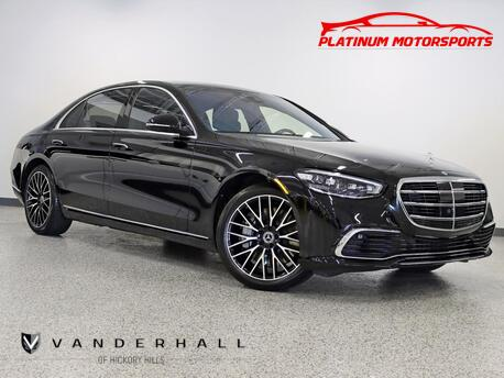 2021_Mercedes-Benz_S 580 4Matic_1 Owner NO Waiting 21 Miles It's Brand New Get It Before It's Gone_ Hickory Hills IL