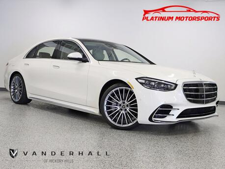 2021_Mercedes-Benz_S 580 4Matic Sport Pkg_No Waiting 42 Miles Best Color Combo Get It Before It's Gone_ Hickory Hills IL