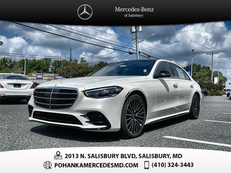 2021_Mercedes-Benz_S-Class_S 580 4MATIC®_ Salisbury MD