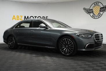 2021_Mercedes-Benz_S-Class_S 580_ Houston TX