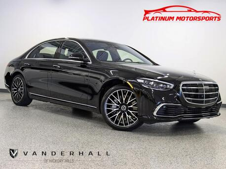 2021_Mercedes-Benz_S580 4Matic_1 Owner Executive Rear Seat Pkg Rear Entertainment Launch Pkg Loaded_ Hickory Hills IL
