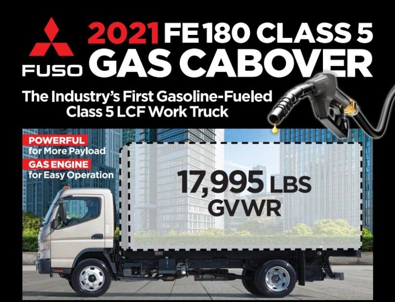 2021 Mitsubishi Fuso FE180 Cab & Chassis Fort Lauderdale FL