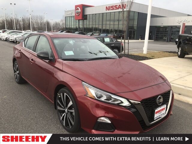 2021 Nissan Altima 2.5 SR White Marsh MD