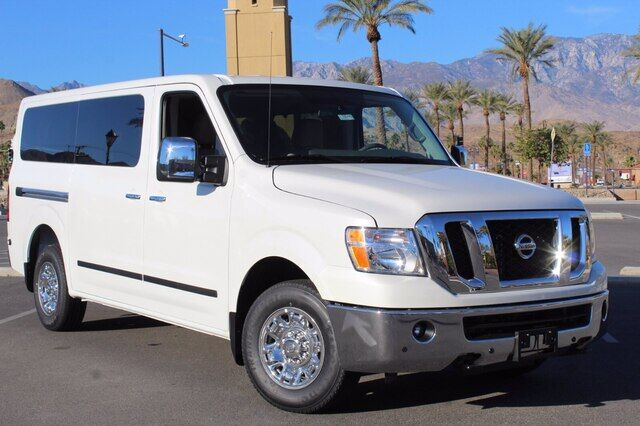2021 Nissan NV Passenger NV3500 HD SL V8 Cathedral City CA
