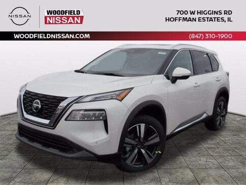 2021_Nissan_Rogue_SL_ Hoffman Estates IL
