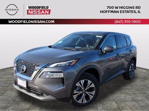2021_Nissan_Rogue_SV_ Hoffman Estates IL