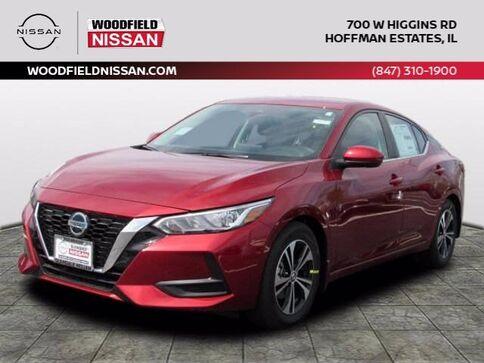 2021_Nissan_Sentra_SV_ Hoffman Estates IL