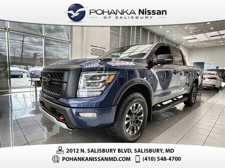 2021_Nissan_Titan_PRO-4X_ Salisbury MD