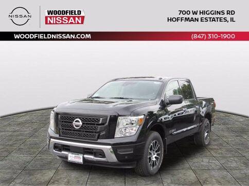 2021_Nissan_Titan_SV_ Hoffman Estates IL