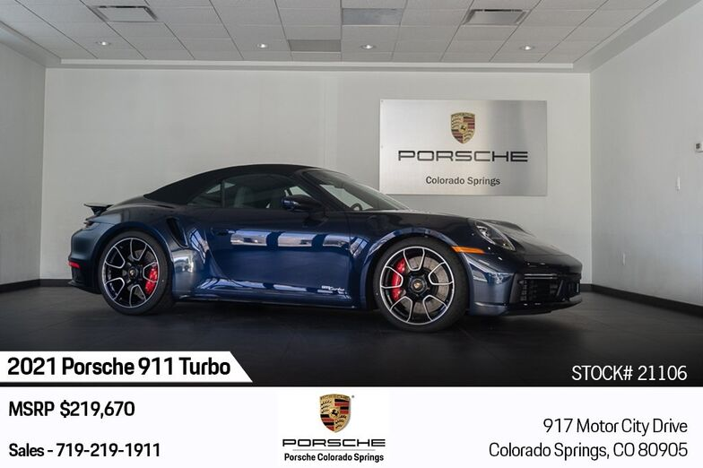 2021 Porsche 911 Turbo Colorado Springs CO