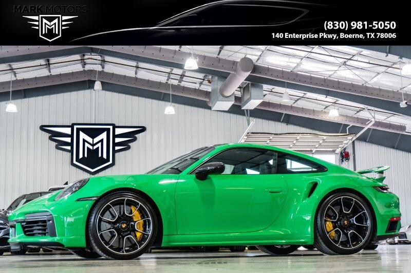 2021_Porsche_911_Turbo S - PYTHON GREEN_ Boerne TX