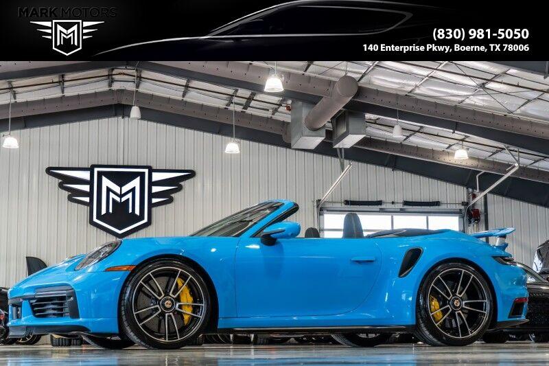 2021_Porsche_911_Turbo S Cabriolet - PTS MEXICO BLUE_ Boerne TX