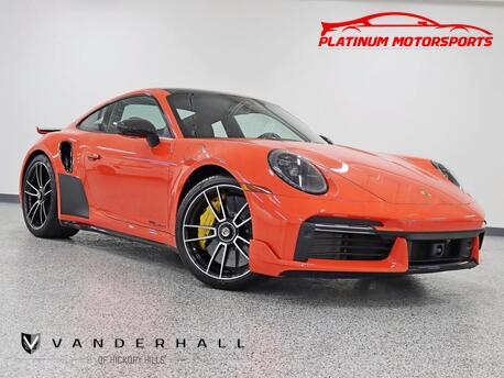 2021_Porsche_911 Turbo S_Rare NO Waiting Front Axle Lift Sport Chrono Night Vision Pano_ Hickory Hills IL