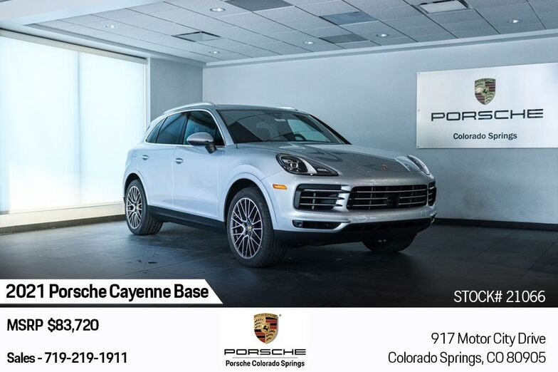 2021 Porsche Cayenne Base Colorado Springs CO
