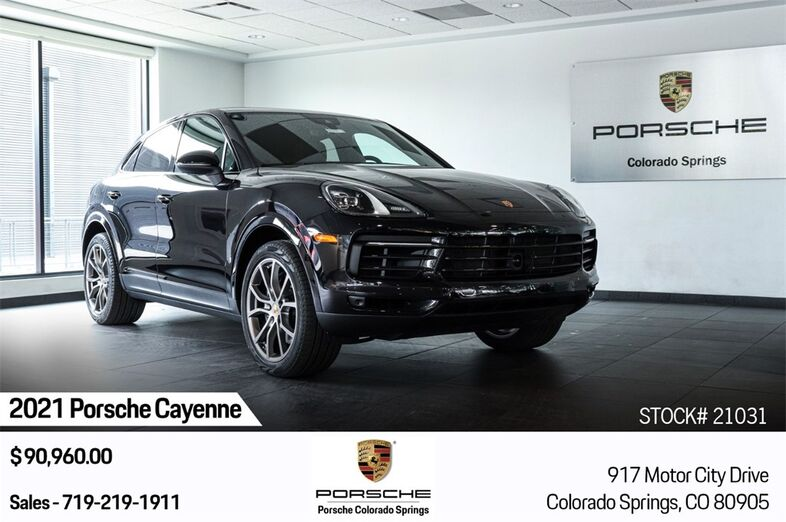2021 Porsche Cayenne Coupe Base Colorado Springs CO