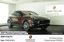 Porsche Cayenne Coupe S 2021
