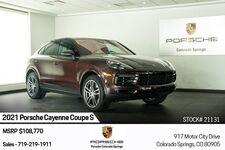 2021 Porsche Cayenne Coupe S