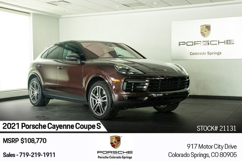 2021 Porsche Cayenne Coupe S Colorado Springs CO