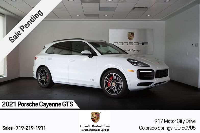 2021 Porsche Cayenne GTS Colorado Springs CO