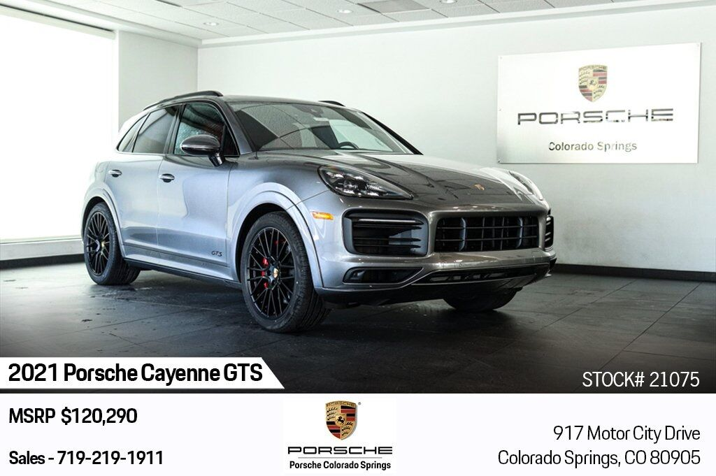 2021 Porsche Cayenne GTS Colorado Springs CO