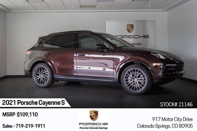 2021 Porsche Cayenne S Colorado Springs CO