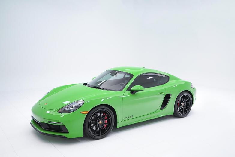 2021 Porsche Demo Sale 718 Cayman GTS 4.0 Pompano Beach FL