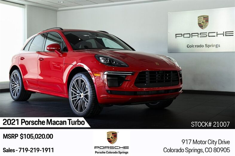2021 Porsche Macan Turbo Colorado Springs CO