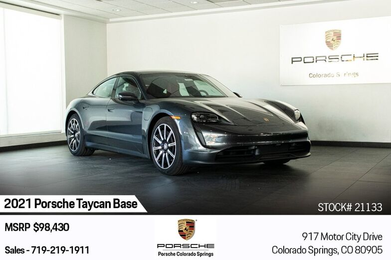 2021 Porsche Taycan Base Colorado Springs CO