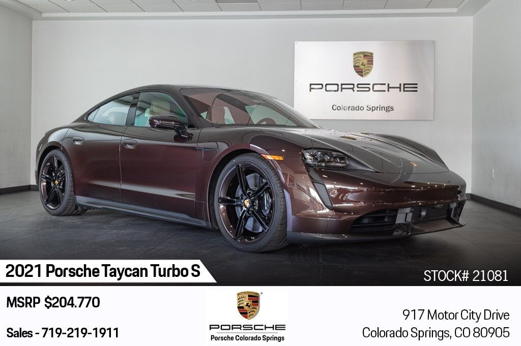 2021 Porsche Taycan Turbo S Colorado Springs CO