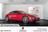 Porsche Taycan Turbo S 2021