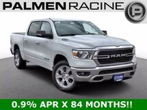 2021 Ram 1500 BIG HORN CREW CAB 4X4 5'7 BOX