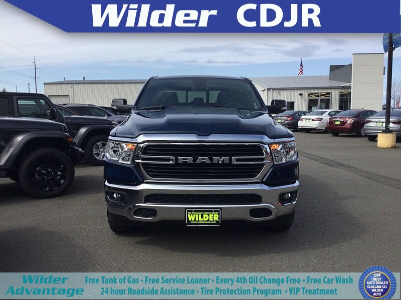 2021 Ram 1500 BIG HORN CREW CAB 4X4 5'7 BOX Port Angeles WA