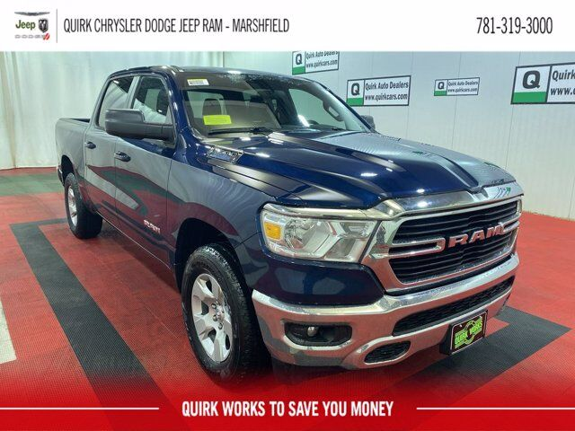 2021 Ram 1500 BIG HORN CREW CAB 4X4 5'7 BOX Marshfield MA