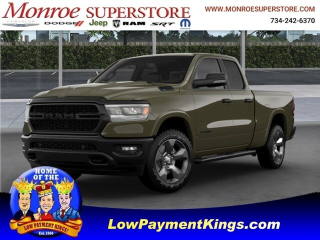 2021 Ram 1500 BIG HORN QUAD CAB 4X4 6'4 BOX Monroe MI