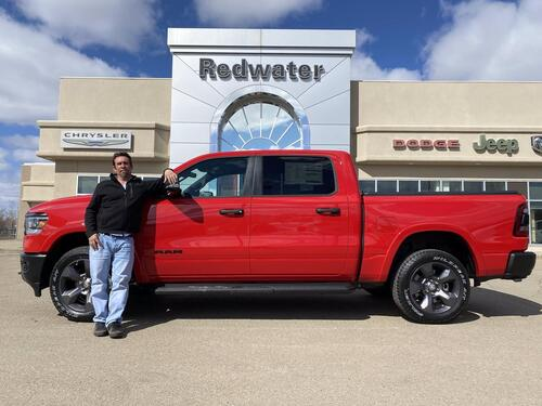 2021_Ram_1500_Big Horn - Built to Serve Edition_ Redwater AB