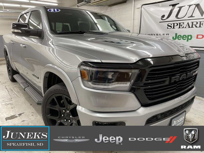 2021 Ram 1500 LARAMIE CREW CAB 4X4 5'7 BOX Spearfish SD