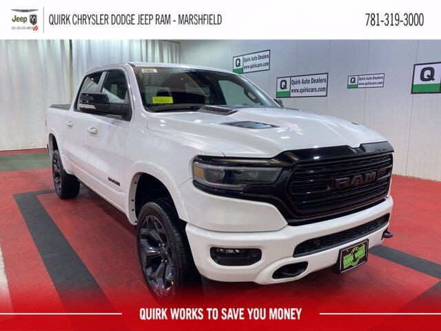 2021 Ram 1500 LIMITED CREW CAB 4X4 5'7 BOX Marshfield MA