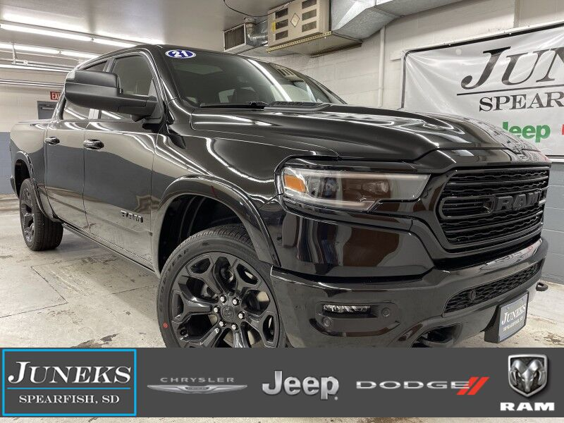 2021 Ram 1500 LIMITED CREW CAB 4X4 5'7 BOX Spearfish SD