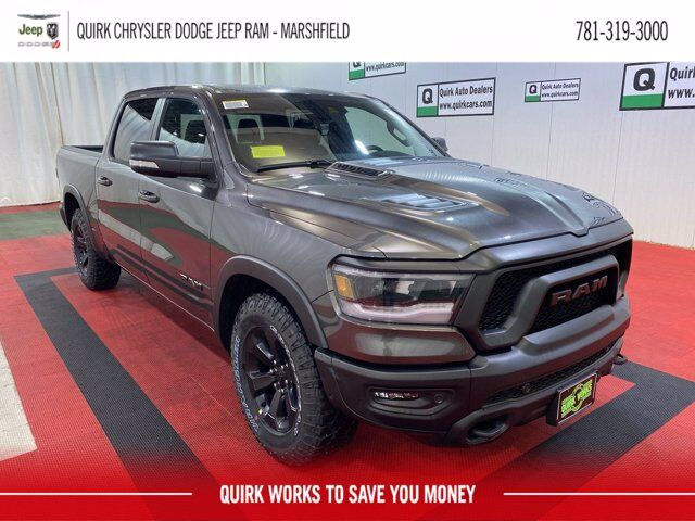 2021 Ram 1500 REBEL CREW CAB 4X4 5'7 BOX Marshfield MA