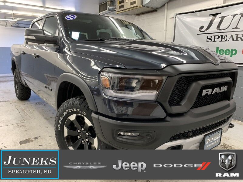 2021 Ram 1500 REBEL CREW CAB 4X4 5'7 BOX Spearfish SD