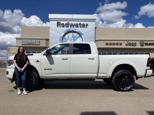 2021 Ram 3500 Laramie - Night Edition - Cummins Diesel Redwater AB