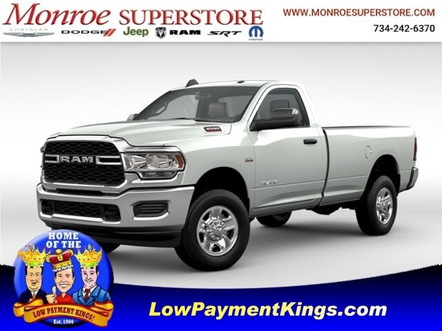 2021 Ram 3500 TRADESMAN REGULAR CAB 4X4 8' BOX Monroe MI