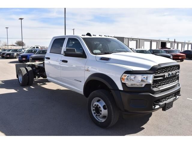 "2021 Ram 5500 Chassis Cab TRADESMAN CHASSIS CREW CAB 4X4 84 CA"" Andrews TX"
