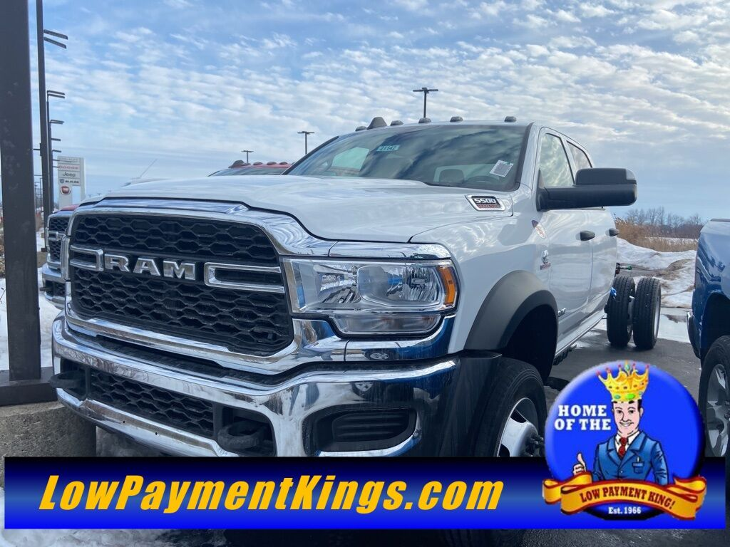 "2021 Ram 5500 Chassis Cab TRADESMAN CHASSIS CREW CAB 4X4 84 CA"" Shelby OH"