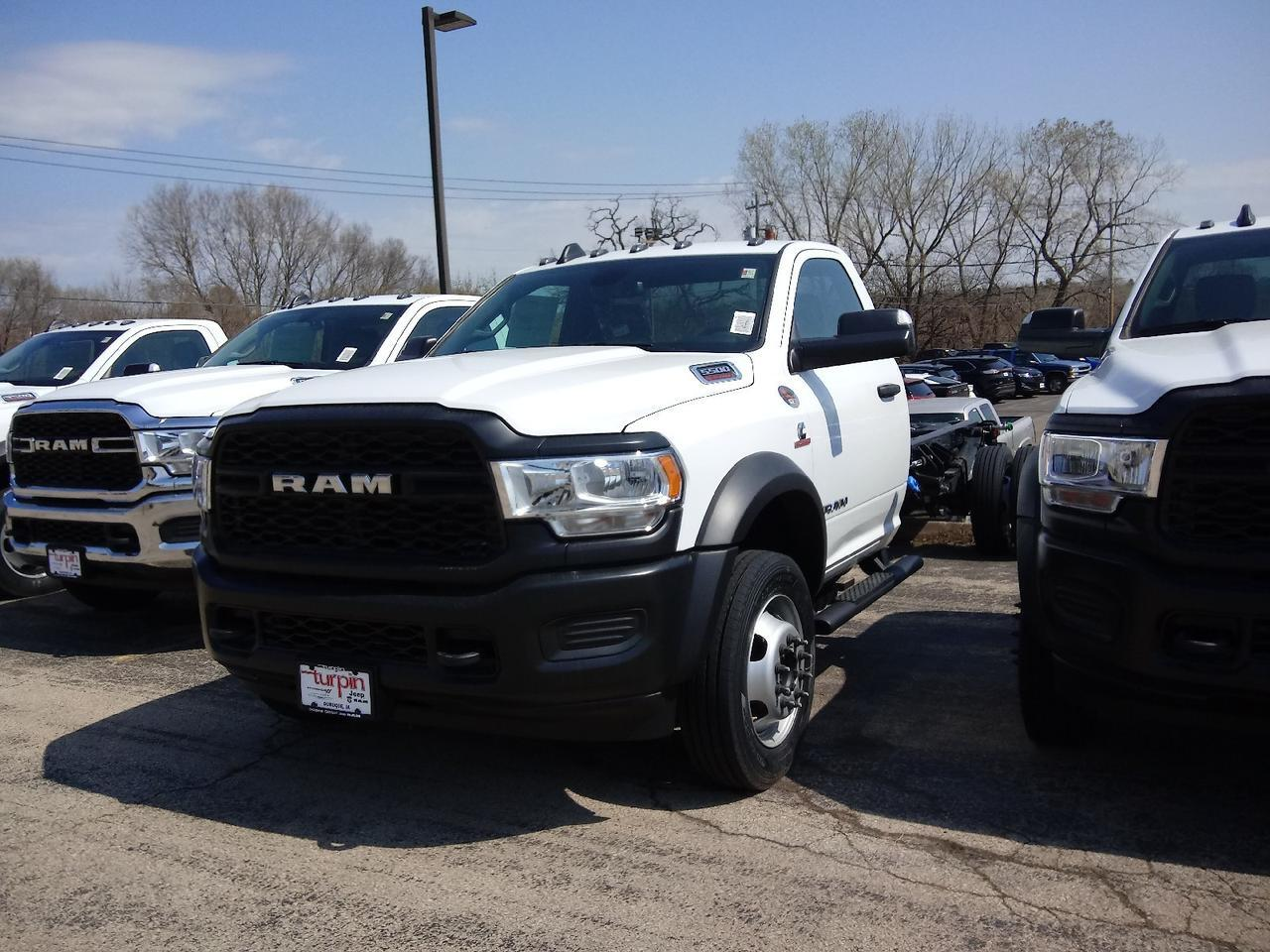 "2021 Ram 5500 Chassis Cab TRADESMAN CHASSIS REGULAR CAB 4X2 120 CA"" Dubuque IA"