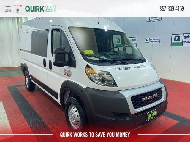 "2021 Ram ProMaster 1500 CARGO VAN HIGH ROOF 136 WB"" Boston MA"