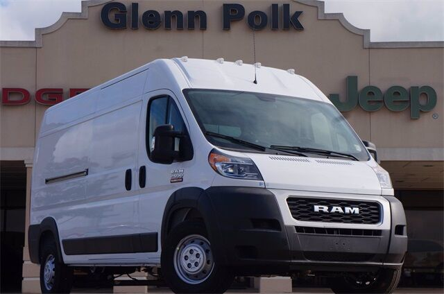 "2021 Ram ProMaster 2500 CARGO VAN HIGH ROOF 159 WB"" Gainesville TX"