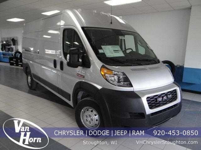"2021 Ram ProMaster 2500 CARGO VAN HIGH ROOF 159 WB"" Stoughton WI"