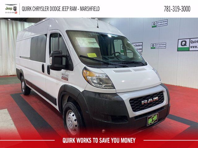"2021 Ram ProMaster 3500 CARGO VAN HIGH ROOF 159 WB EXT"" Marshfield MA"