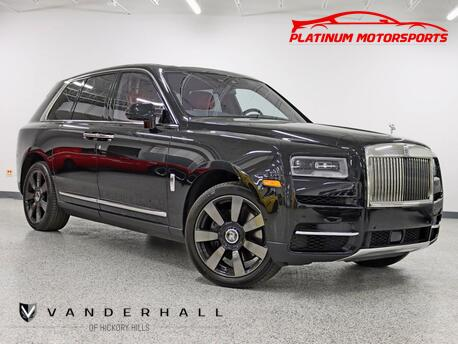 2021_Rolls-Royce_Cullinan_The Baddest Truck Out 1 Owner V12 Star Light Pkg Rear Entertainment Drive In Excellence_ Hickory Hills IL